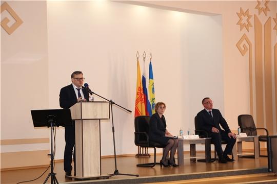 Михаил Ноздряков принял участие в подведении итогов социально-экономического развития города Новочебоксарск