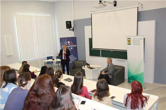День карьеры: Михаил Ноздряков встретился со студентами ЧГУ имени И.Н. Ульянова