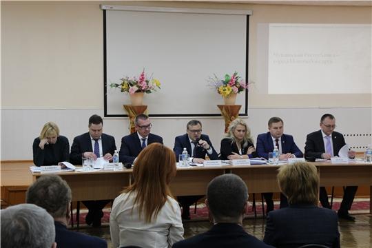 Совещание по соцблоку в Новочебоксарске