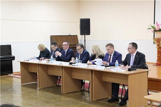 Вопросы социальной сферы города обсуждались с делегацией министров ЧР (Сюжет НКТВ)