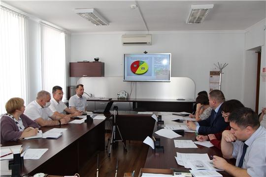 Заседание Координационного совета по повышению финансовой грамотности населения Чувашской Республики