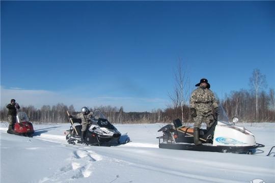 В заповеднике «Присурский» завершаются зимние маршрутные учеты