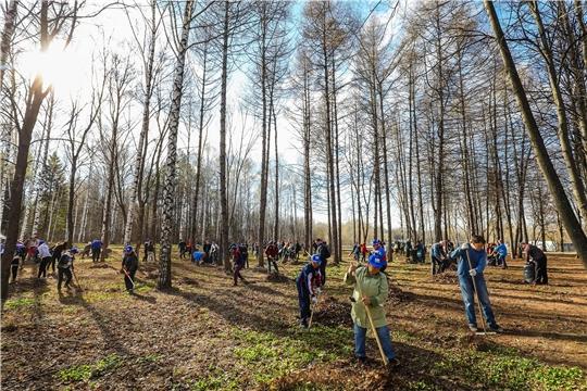В Чебоксарах дан старт весенним экологическим мероприятиям