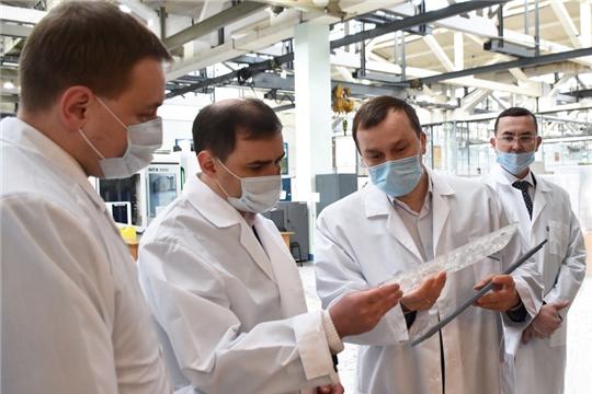 19 февраля представители Минпромторга России в рамках выездной стажировки по программе «Федеральная практика» в Приволжском федеральном округе посетили предприятия электротехнического кластера Чувашии.