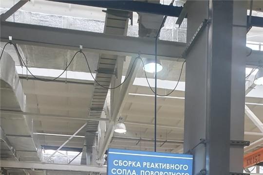 Министр промышленности Чувашии Евгений Герасимов посетил предприятия в городе Уфа Республики Башкортостан