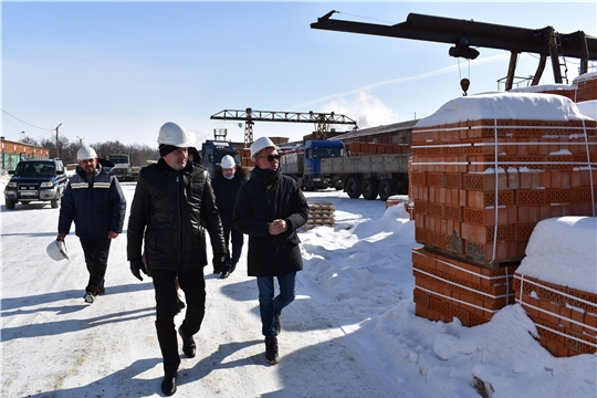 Министр промышленности и энергетики Чувашской Республики Евгений Герасимов посетил с рабочим визитом Ядринский район