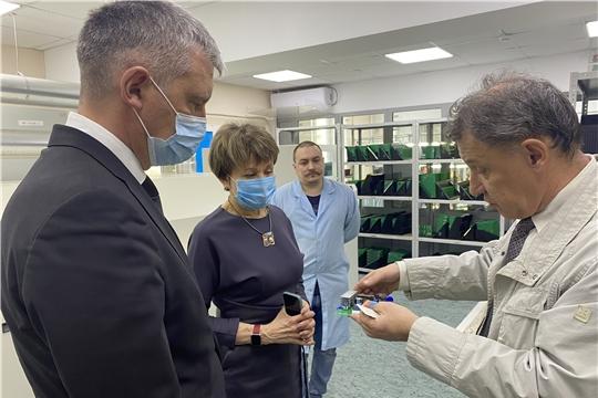 Евгений Герасимов посетил НПП «Динамика»