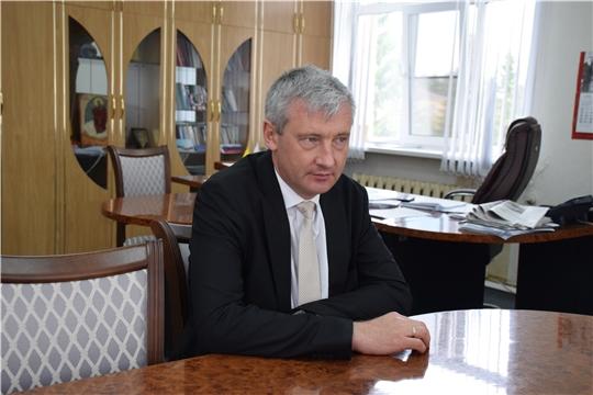 Евгений Герасимов посетил Красночетайский район
