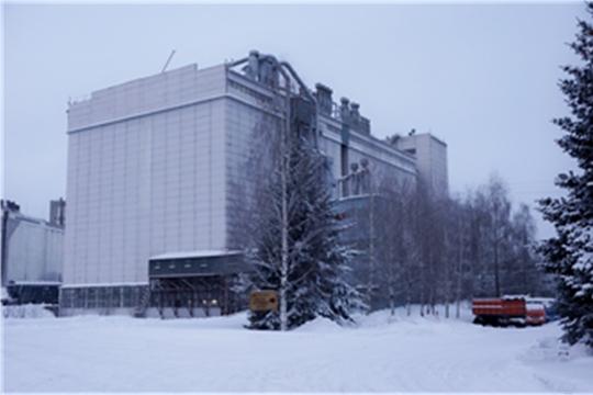 На чебоксарском элеваторе началось охлаждение зерна