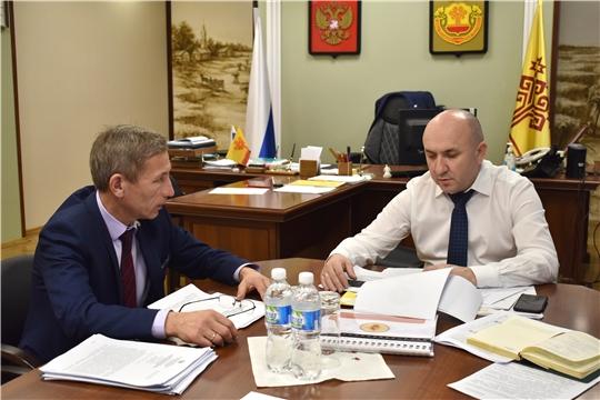 Сергей Артамонов обсудил с руководителями Минприроды, Гостехнадзора и Госветслужбы актуальные направления работы на год