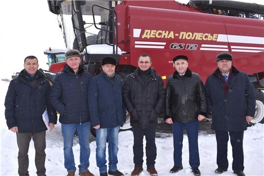 Сергей Артамонов принял участие в поездке сенатора РФ Николая Федорова в агропредприятие«Герой»