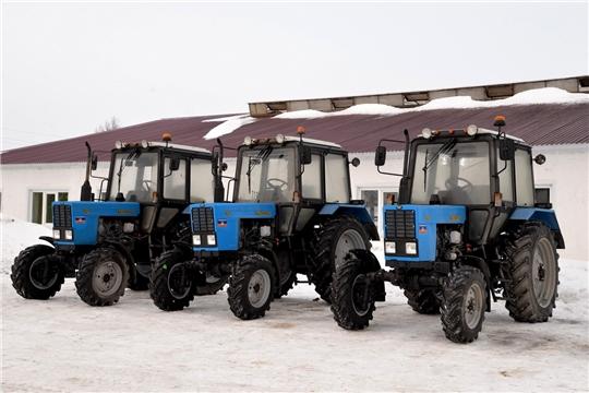 В ЗАО «Батыревский» поступили новые тракторы Беларус МТЗ 82.1.