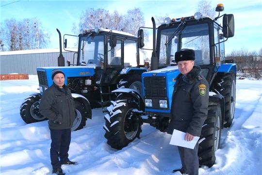 Хозяйства Вурнарского района с начала года закупили 6 единиц техники