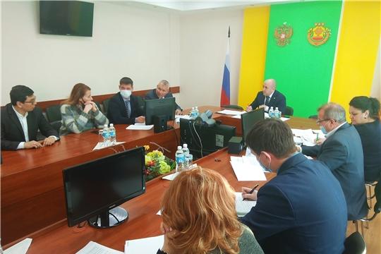 Перспективы развития АПК Мариинско-Посадского и Чебоксарского районов обсудили в Минсельхозе Чувашии