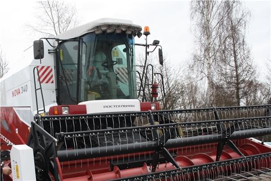 В хозяйствах Красночетайского района обновляется сельхозтехника