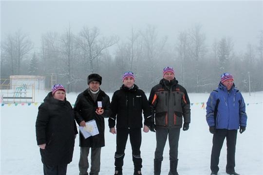 Сергей Артамонов принял участие в празднике спорта «Лыжня России – 2021» в Чебоксарском районе.