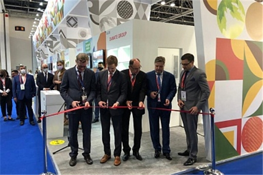Российская экспозиция открылась на Международной выставке продуктов питания «Gulfood 2021»