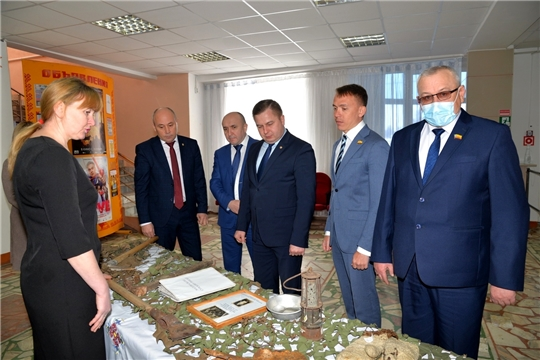 В Батыревском районе подведены итоги социально-экономического развития муниципалитета и обозначены задачи на предстоящий период