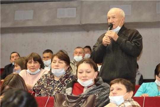 Подведение итогов социально-экономического развития в Шемуршинском районе
