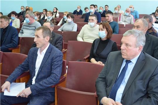 Сергей Артамонов принял участие в работе агроинженерной конференции Мариинско-Посадского района