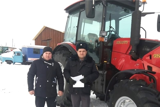 Сельскохозяйственная техника под контролем Гостехнадзора