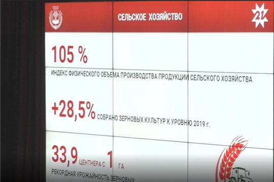 Олег Николаев отметил поступательное развитие агропромышленного комплекса Чувашии