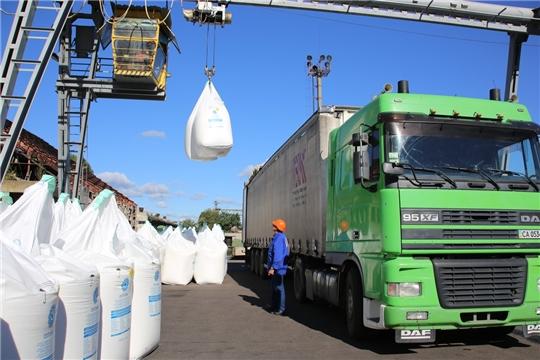 На 18 марта аграриями республики приобретено более 13 тыс. тонн минеральных удобрений в д.в.