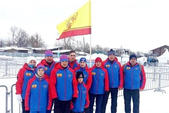 Сборная Чувашии стала бронзовым призером X Всероссийских зимних сельских спортивных