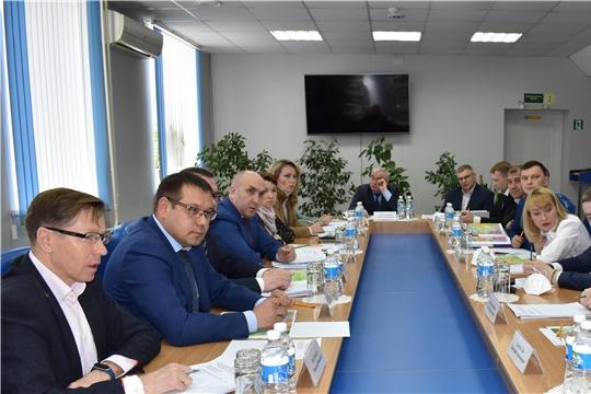 Обсуждение вопросов реализации инвестиционных проектов в Новочебоксарске