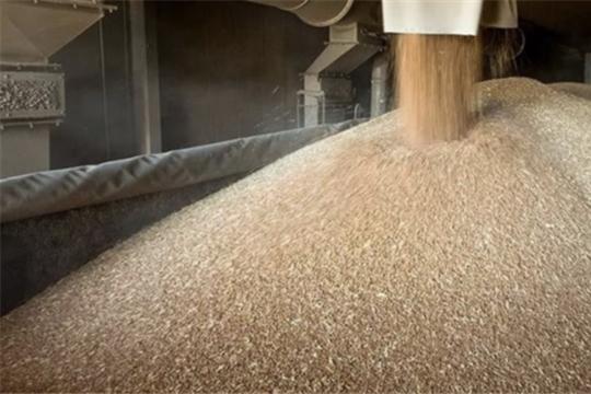 В Продовольственном фонде температура зерна на складах под контролем