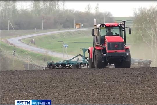В Чувашии аграрии вышли на подкормку озимых