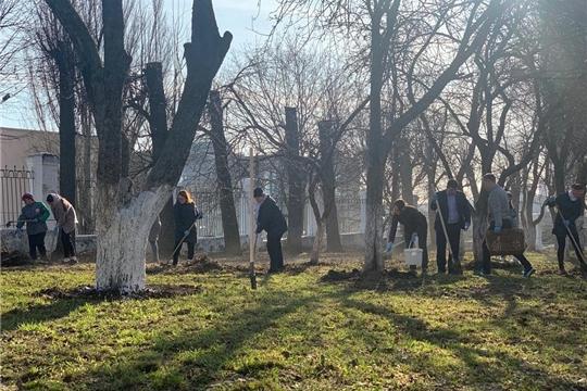 Сотрудники Минсельхоза Чувашии провели экологический субботник