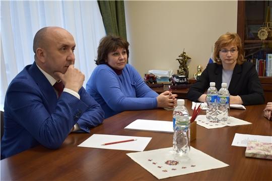 Встреча с руководителями ЦНМВЛ