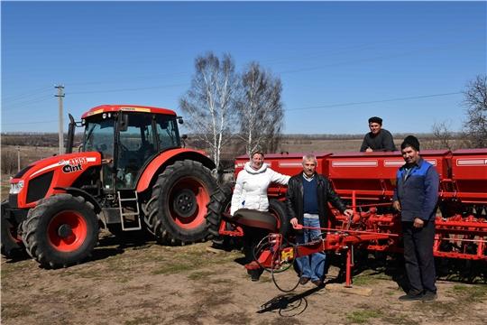 В Козловском районе приступили к севу зерновых