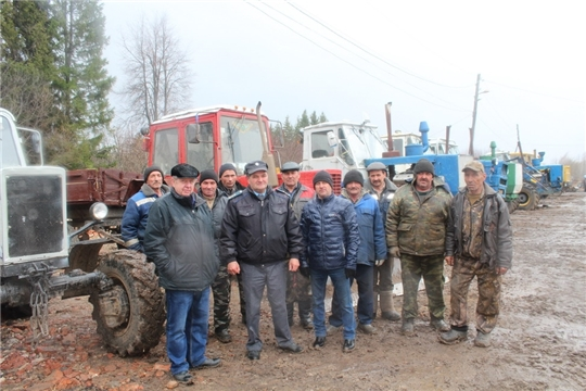 Техническое состояние сельхозмашин в Цивильском районе на контроле