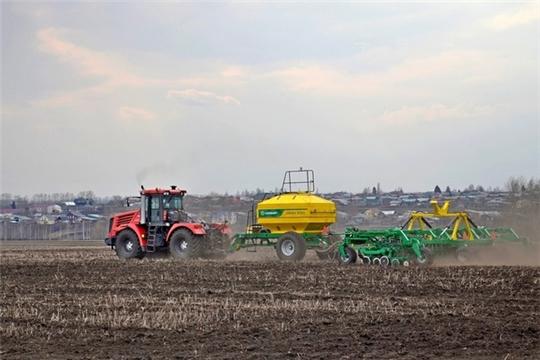 На 4 мая аграриями республики посеяно 34,3 тыс. га зерновых культур