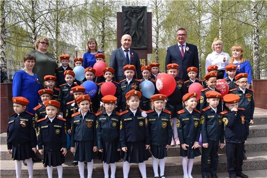 Сергей Артамонов в преддверии Дня Победы встретился с жителями Новочебоксарска.