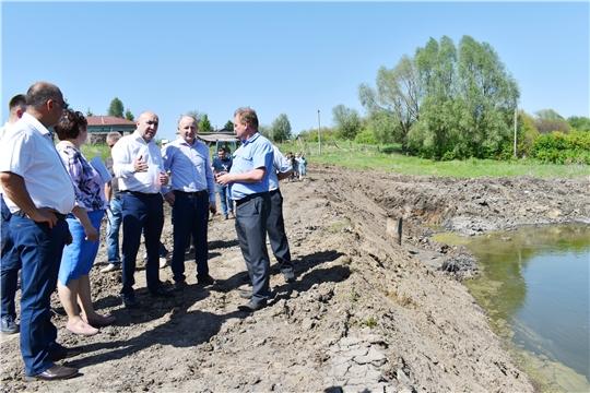 Сергей Артамонов ознакомился с ходом реализации проектов развития общественной инфраструктуры Красночетайского района