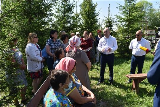 В Аликовском районе реализуются проекты развития сельских территорий