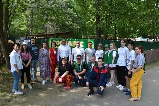 Добровольцы волонтерского альянса «АгроВыбор» посетили новочебоксарский зоопарк
