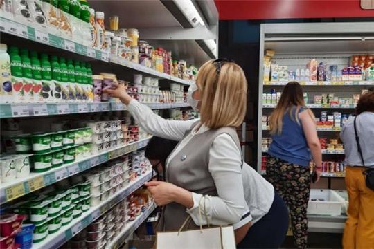 «Агроконтроль» проверил свежесть продуктов в магазинах Новочебоксарска