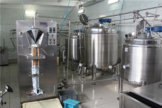 В Чувашии возмещают 30% затрат на приобретение оборудования для глубокой переработки молока, мяса, картофеля и овощей