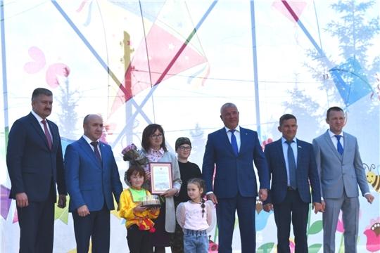 Сергей Артамонов принял участие в праздновании Международного дня защиты детей в Чебоксарском районе.