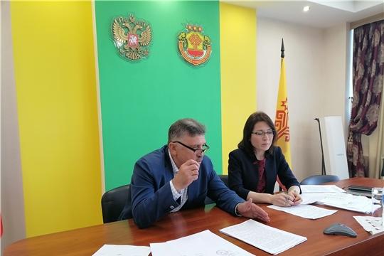 Заместитель министра Алина Семенова провела совещание в формате видеоконференции с заместителями глав администраций муниципальных районов