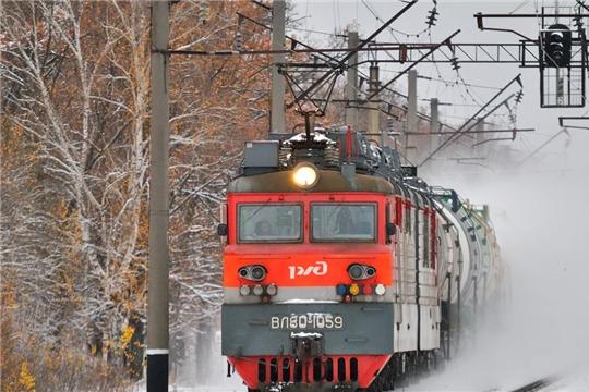 Дополнительные поезда будут курсировать между Чебоксарами и Москвой в праздничные дни февраля и марта