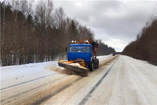 В республике ликвидируют последствия сильнейшего снегопада