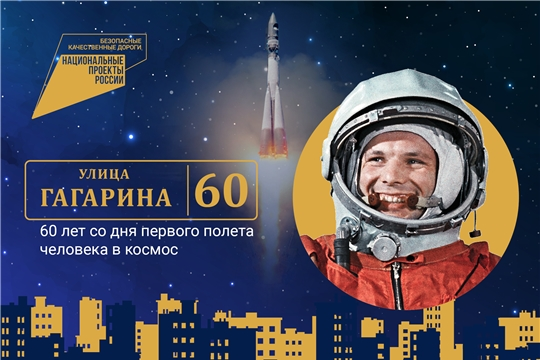 Благодаря нацпроекту в регионах России будут отремонтированы 43 улицы, названные в честь Юрия Гагарина