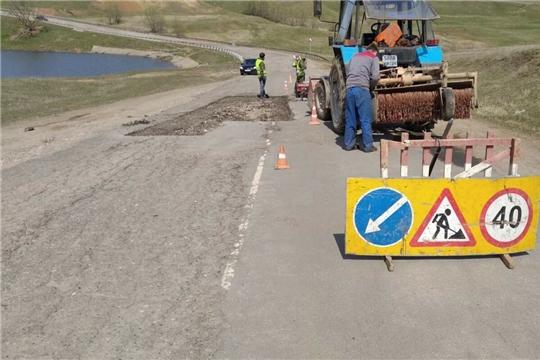 В 2021 году на строительство и содержание дорог Мариинско-Посадского района заложено свыше 100 млн рублей