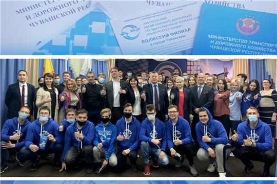 В рамках Дней Карьеры Владимир Осипов встретился со студентами МАДИ