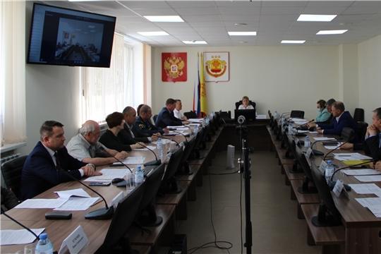 Состоялось заседание Межведомственной комиссии по охране труда  в Чувашской Республике